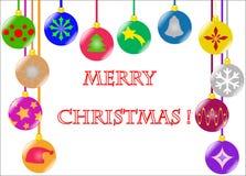 Χριστούγεννα σφαιρών ανα&sigma Στοκ εικόνες με δικαίωμα ελεύθερης χρήσης