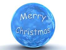 Χριστούγεννα σφαιρών εύθ&upsilo Στοκ φωτογραφία με δικαίωμα ελεύθερης χρήσης