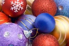 Χριστούγεννα σφαιρών ζωηρό Στοκ Εικόνες