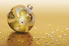 Χριστούγεννα σφαιρών κίτρι Στοκ φωτογραφία με δικαίωμα ελεύθερης χρήσης