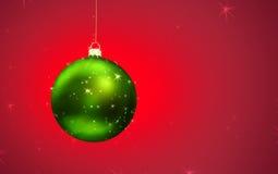 Χριστούγεννα σφαιρών μαγι Στοκ Εικόνες