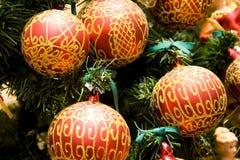 Χριστούγεννα σφαιρών Στοκ Εικόνα
