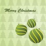 Χριστούγεννα σφαιρών ελεύθερη απεικόνιση δικαιώματος