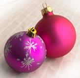 Χριστούγεννα σφαιρών Στοκ Φωτογραφία