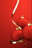 Χριστούγεννα σφαιρών Στοκ φωτογραφία με δικαίωμα ελεύθερης χρήσης