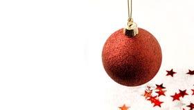 Χριστούγεννα σφαιρών στοκ εικόνες με δικαίωμα ελεύθερης χρήσης