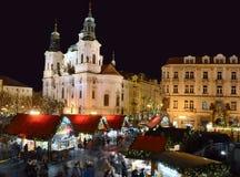 Χριστούγεννα της Πράγας Στοκ Φωτογραφία