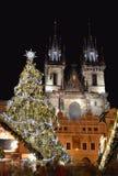 Χριστούγεννα της Πράγας Στοκ εικόνες με δικαίωμα ελεύθερης χρήσης