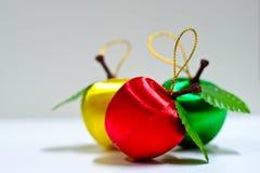 Χριστούγεννα της Apple Στοκ φωτογραφία με δικαίωμα ελεύθερης χρήσης