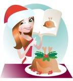 Χριστούγεννα Τουρκία Στοκ εικόνα με δικαίωμα ελεύθερης χρήσης