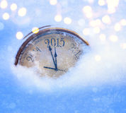 Χριστούγεννα του 2015 και νέα παραμονή ετών Στοκ Εικόνες