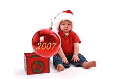 Χριστούγεννα του 2007 στοκ εικόνα με δικαίωμα ελεύθερης χρήσης