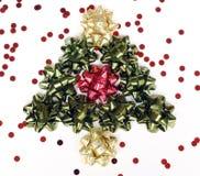 Χριστούγεννα τόξων στοκ εικόνα