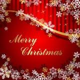 Χριστούγεννα χαιρετισμ&omicr Στοκ εικόνες με δικαίωμα ελεύθερης χρήσης