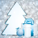 Χριστούγεννα χαιρετισμ&omicr Στοκ Φωτογραφίες