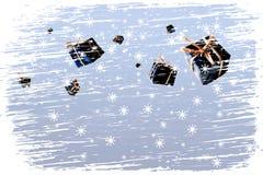 Χριστούγεννα χιονοθύελ&l ελεύθερη απεικόνιση δικαιώματος