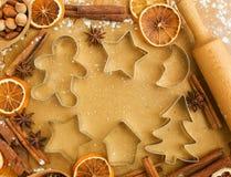 Χριστούγεννα ψησίματος Στοκ Εικόνα