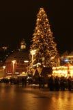 Χριστούγεννα δέντρων Στοκ εικόνα με δικαίωμα ελεύθερης χρήσης