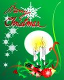 Χριστούγεννα 02 ανασκόπηση&si Στοκ Εικόνες