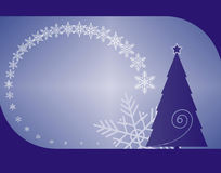 Χριστούγεννα 10 ανασκόπησης διανυσματική απεικόνιση