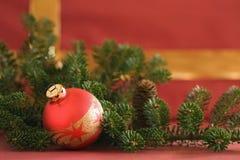Χριστούγεννα 10 σφαιρών Στοκ φωτογραφίες με δικαίωμα ελεύθερης χρήσης
