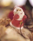 Χριστούγεννα 2 κέικ Στοκ Φωτογραφία