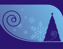 Χριστούγεννα 3 ανασκόπησης διανυσματική απεικόνιση