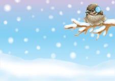 Χριστούγεννα 33 απεικόνιση& διανυσματική απεικόνιση