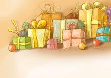 Χριστούγεννα 37 απεικόνιση& διανυσματική απεικόνιση