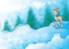 Χριστούγεννα 39 απεικόνιση& διανυσματική απεικόνιση