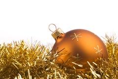 Χριστούγεννα 5 σφαιρών στοκ φωτογραφίες