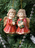 Χριστούγεννα 7 διακοσμήσ&ep Στοκ Εικόνες