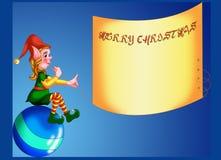 Χριστούγεννα 7 καρτών Στοκ Φωτογραφίες