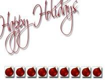 Χριστούγεννα 9 ανασκόπηση&sig διανυσματική απεικόνιση