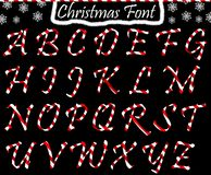 Χριστούγεννα abc από τα κεφαλαία γράμματα Στοκ Φωτογραφίες