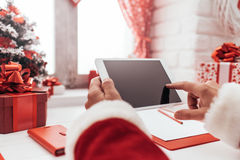 Χριστούγεννα apps Στοκ Φωτογραφίες