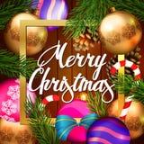 Χριστούγεννα Backround ελεύθερη απεικόνιση δικαιώματος