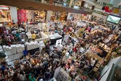 Χριστούγεννα bazaar Στοκ Εικόνες