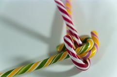 Χριστούγεννα candys Στοκ Φωτογραφίες