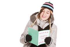 Χριστούγεννα Caroling Στοκ φωτογραφία με δικαίωμα ελεύθερης χρήσης
