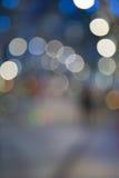 Χριστούγεννα Defocused sreet Στοκ φωτογραφίες με δικαίωμα ελεύθερης χρήσης