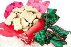 Χριστούγεννα doggie στοκ φωτογραφίες με δικαίωμα ελεύθερης χρήσης