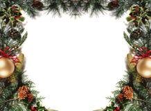 Χριστούγεννα frame3 Στοκ Εικόνες