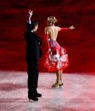 Χριστούγεννα Gala 2010, Μιλάνο, Ιταλία πάγου Στοκ εικόνες με δικαίωμα ελεύθερης χρήσης
