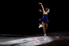 Χριστούγεννα Gala 2010, Μιλάνο, Ιταλία πάγου Στοκ φωτογραφία με δικαίωμα ελεύθερης χρήσης