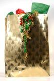 Χριστούγεννα giftbag Στοκ Εικόνα