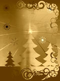Χριστούγεννα grunge αναδρομι&kap διανυσματική απεικόνιση