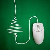 Χριστούγεννα on-line Στοκ Φωτογραφία