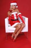 Χριστούγεννα martini στοκ εικόνα
