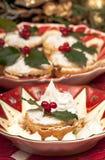 Χριστούγεννα mincepies παραδοσ&io Στοκ Φωτογραφία